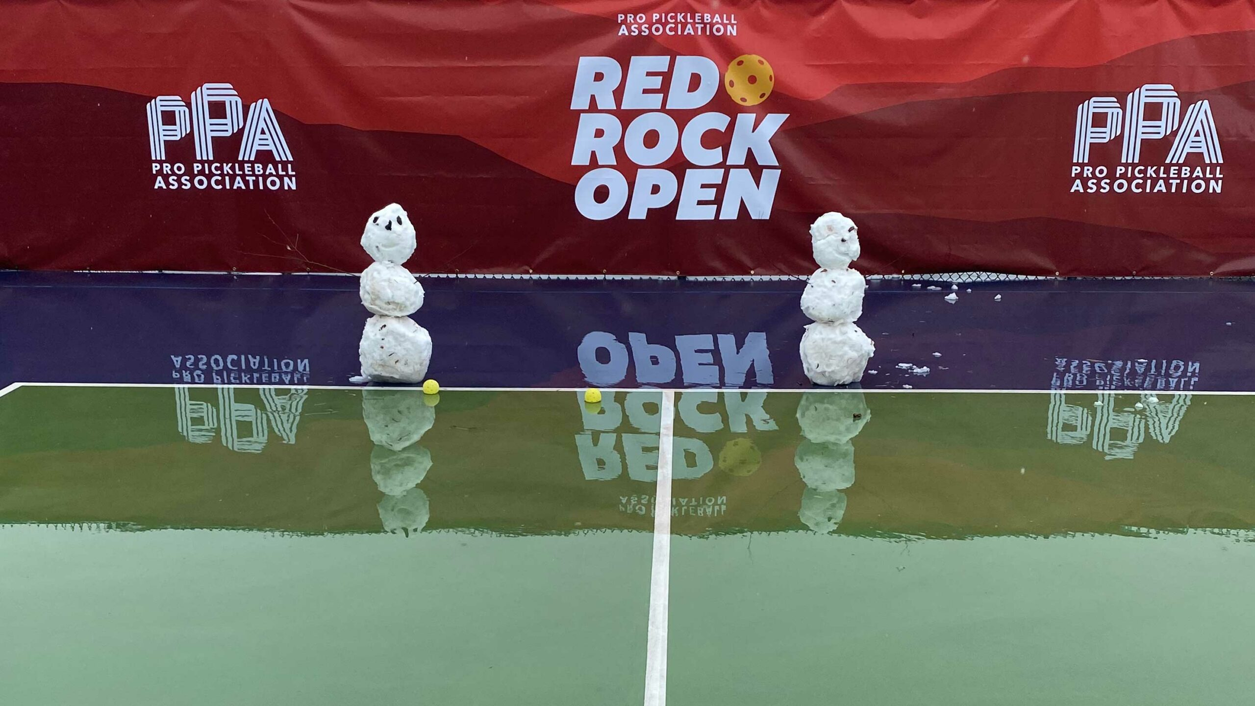 Red Rock Open Blasted by Rain, Snow, and Ben Johns